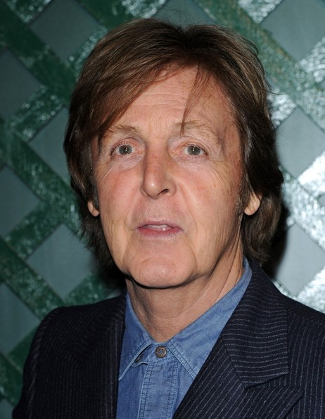 Paul McCartney And Nancy Shevell LA Premiere Of My