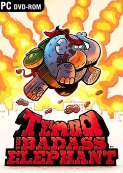 Tembo The Badass Elephant Jogos Torrent Download capa