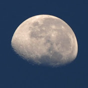 A lua hoje