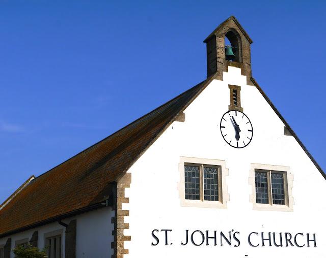 White Church and Church Bell