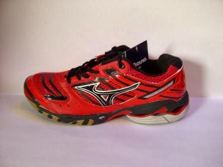 Jual sepatu Mizuno Wave Lighting 7 Harga Grosir merah