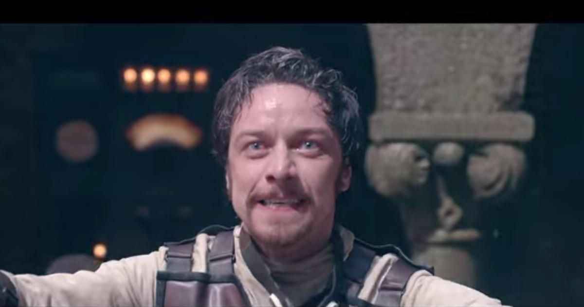 James McAvoy as Victor Frankenstein