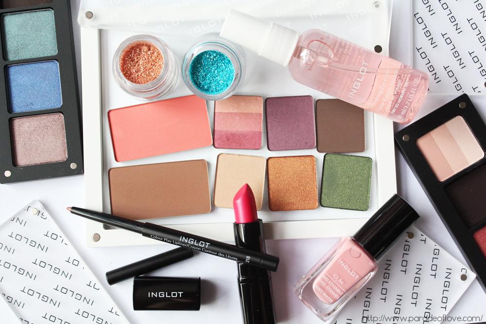INGLOT Spring/Summer 2015 Makeup