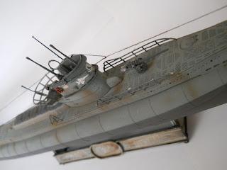 modelismo naval de submarinos de la segunda guerra mundial