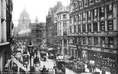 Fleet Street, London, c1886