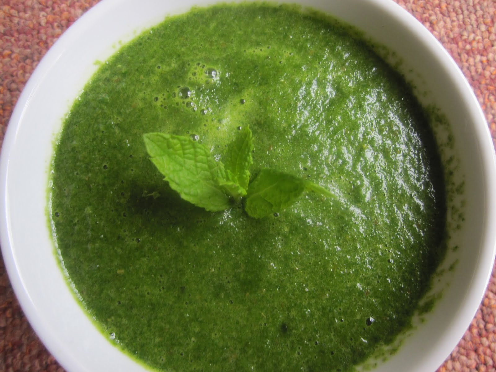 Om Ayurveda And Yoga Health Centre: PUDINA CHUTNEY ( MINT ...