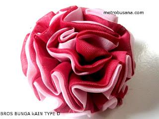 bros bunga kain 2 warna