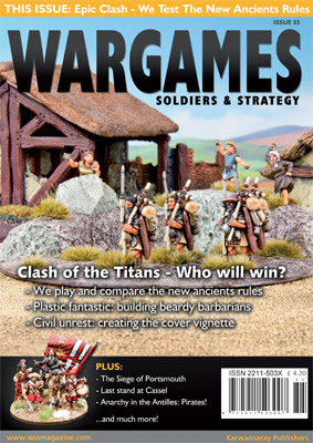 Couverture du Wargames Soldiers and Strategy 55