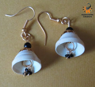 kalanirmitee: Quilled earrings