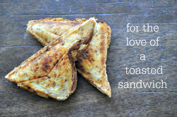 Vegetarian toasted sandwich options // Lilybett and Boy
