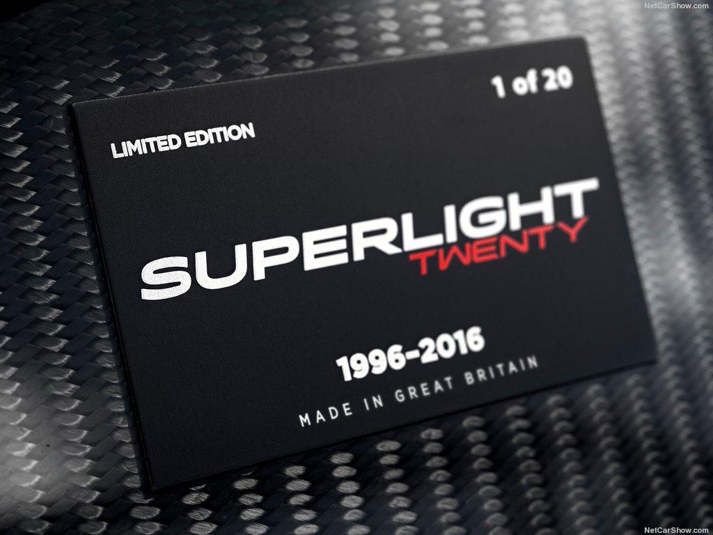 Hình ảnh xe ô tô Caterham Superlight Twenty 2016 & nội ngoại thất