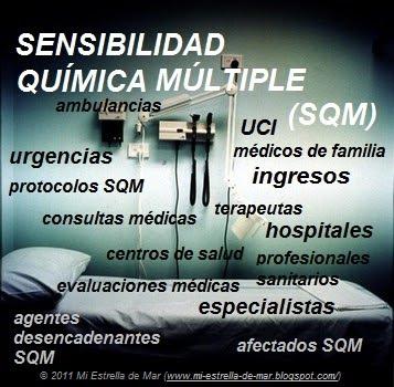 El síndrome de sensibilidad química (SQM)