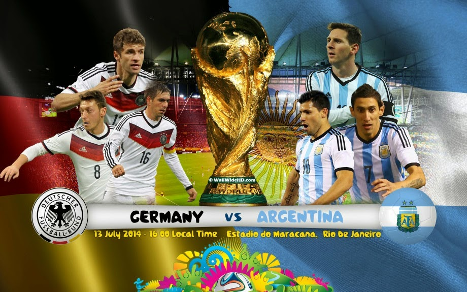 Germany Vs Argentina Final match FIFA World cup 2014