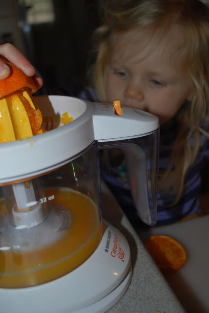 how to make homemade orange juice with a juicer