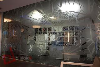 Detalle celosía Lux Gijón