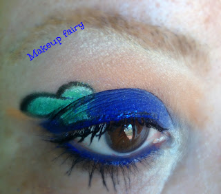 eye makeup look disney goofy