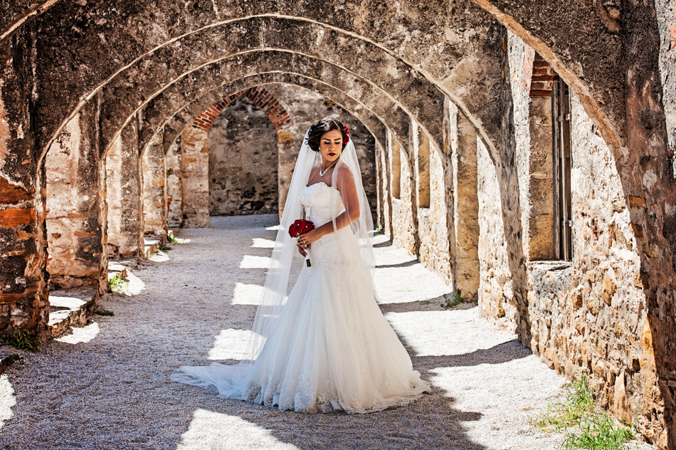 Shutter Speed: San Antonio Mission San Jose Bridal Portraits
