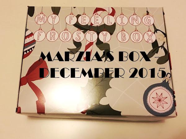 MARZIA'S BOX - December 2015