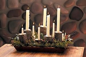 Navidad, Centro de Mesa, parte 7