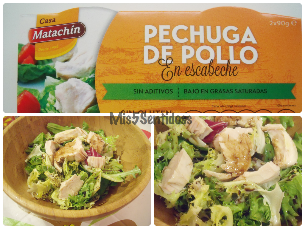 Muestras Premium 2014 Casa matachín pechuga de pollo