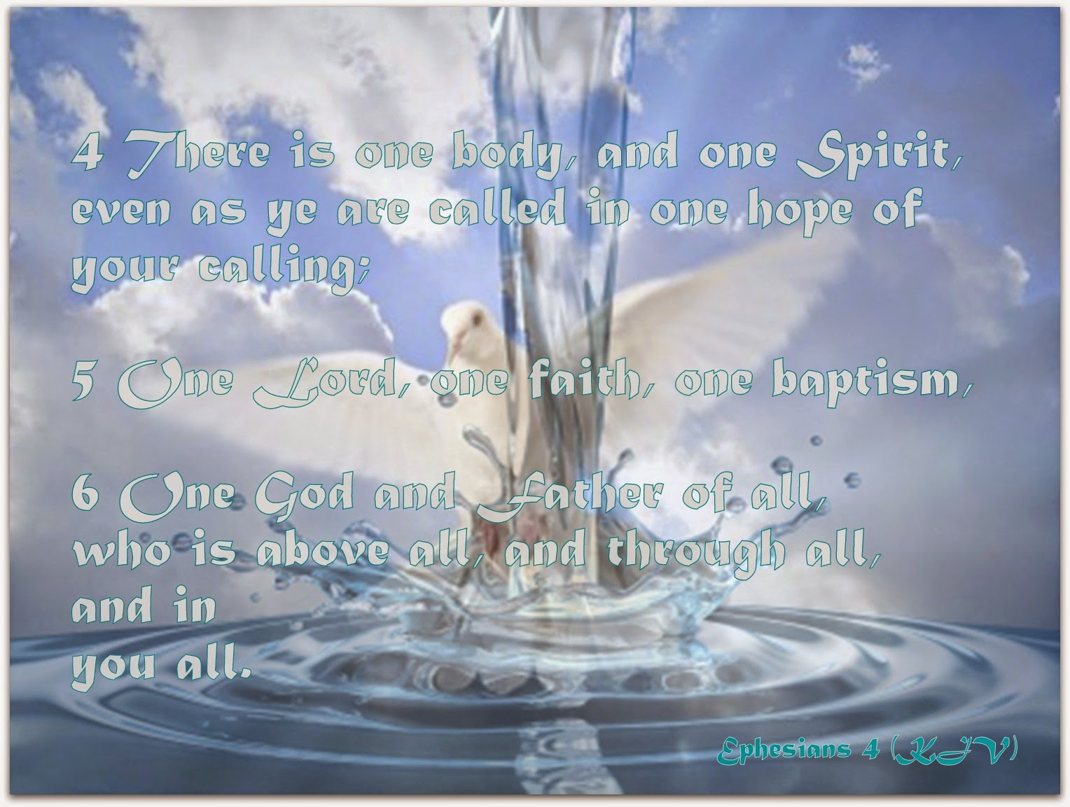 Red pill diaries baptism twice what does the bible say about this 4 there is one body and one spirit even as ye are called in one hope of your calling 5 one lord one faith one baptism 6 one god and father of all buycottarizona Gallery