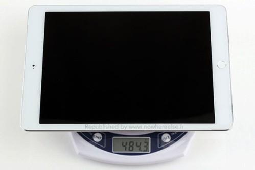 Svelato il peso dell'iPad Air 2?