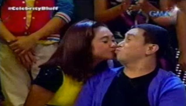 Celebrity Bluff Jose Manalo Kissed Eugene Domingo