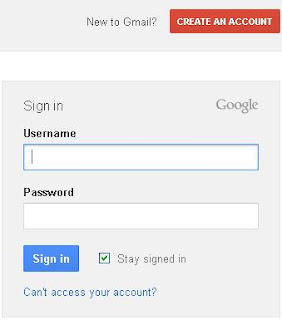 Step 1 to create gmail