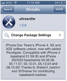uLtrasn0w Jailbreak iOS 6