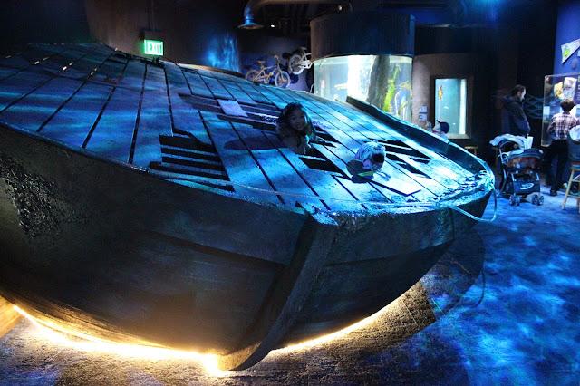 Shipwreck | ECHO Museum | Burlington, Vermont | Chichi Mary