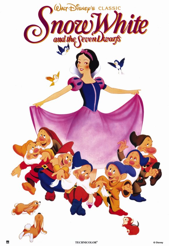 1993 snow white and the seven dwarfs poster2 Stacey London Now My TOP 5!
