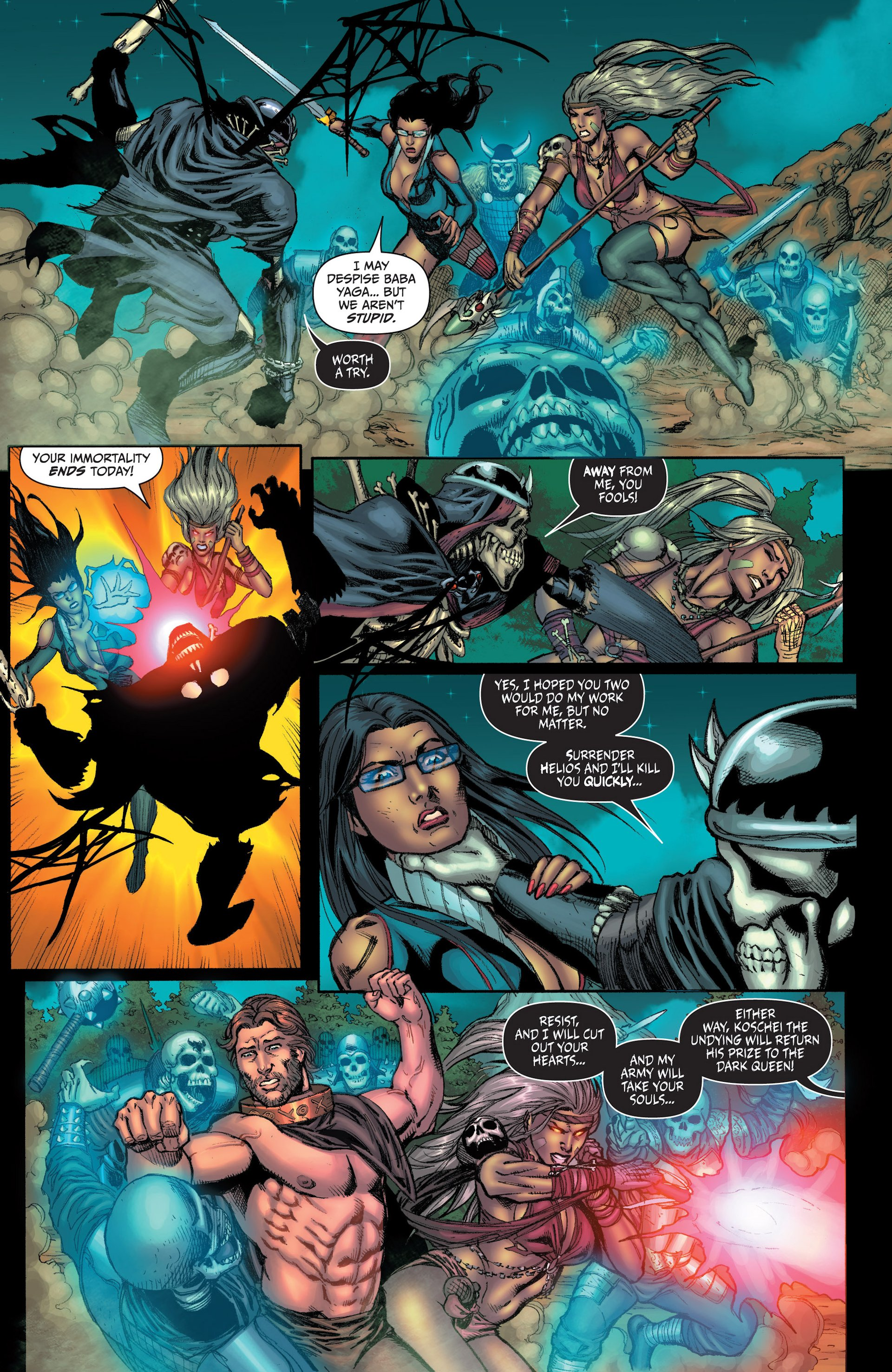 Grimm Fairy Tales (2005) Issue #96 #99 - English 10