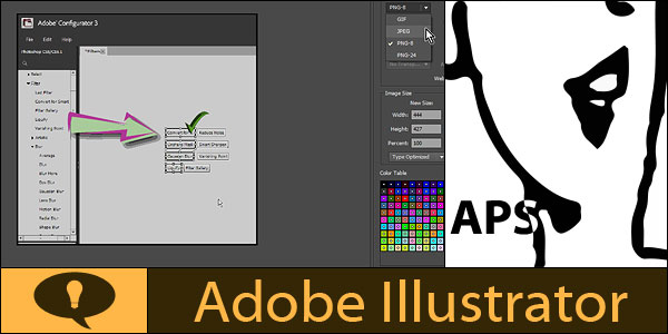 Crop and save bitmap image for web from Adobe Illustrator