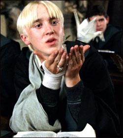 "draco malfoy essay Traitors -- draco malfoy x reader pairing: draco malfoy x reader summary: that night in detention never happened ""malfoy is such a git,"" ron growled "" malfoy is such a git,"" ron growled through gritted teeth during lunch in the great hall i'm tired, and i still have a two-foot potions essay to write."