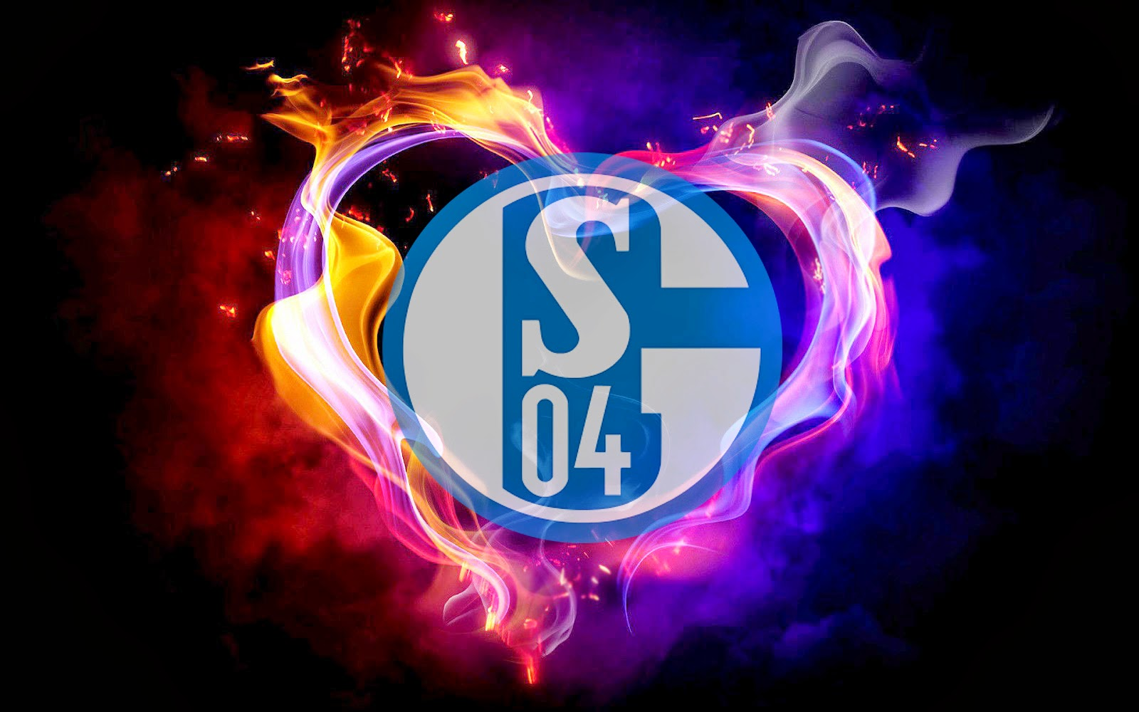 logo fc schalke 04 hintergrunde hd hintergrundbilder. Black Bedroom Furniture Sets. Home Design Ideas