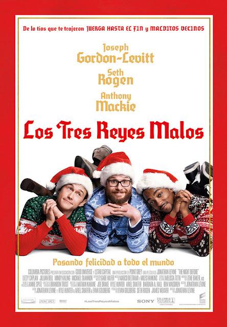 Póster y tráiler español de 'Los tres reyes malos' con Joseph Gordon-Lewitt, Seth Rogen y Anthony Mackie