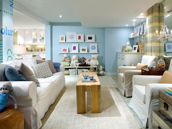 Convert Your Basement into a Family Room