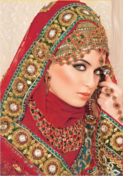 Fashion Hijab Muslim Girls Wedding