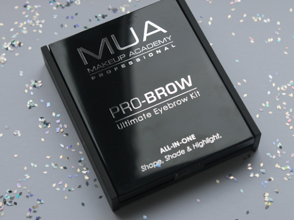 MUA - Pro Brow Ultimate Eyebrow Kit.