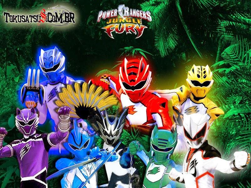 Power Rangers Furia Da Selva Jungle Fury 16ª Temporada Completa