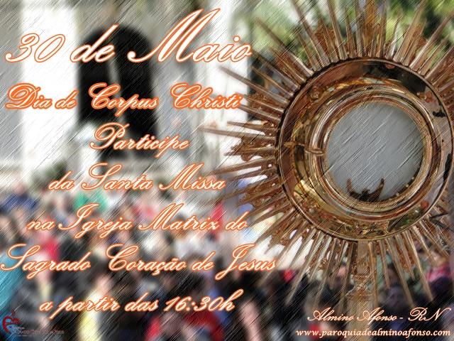Missa de Corpus Christi na Matriz de Almino Afonso