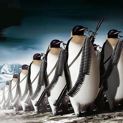 pinguin army