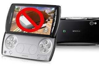 Sony Xperia Play sin ICS