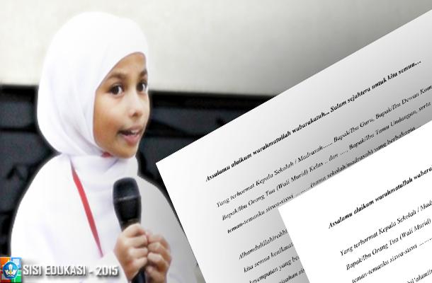 Contoh Kata Sambutan oleh Pembawa Acara Perpisahan Sekolah/Madrasah