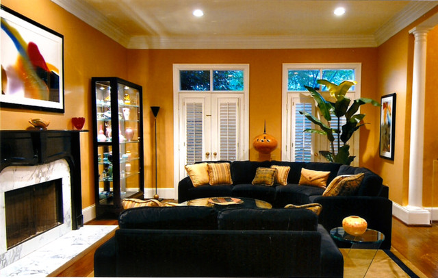 Accessorize Your Home With Black Gold Color