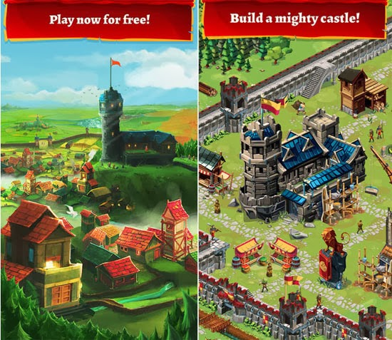 Play now in the huge and visually unique world of Empire: Four Kingdoms!