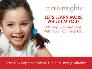 Brain Stimulation at age four makes a long lasting impact - Activity ideas for busy everyday life!