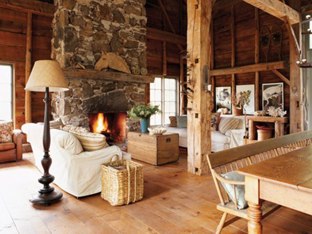 #BF830C Fotos de salas rústicas Colores en Casa 1024x768 px Imagens De Home Kitchen Design_136 Imagens