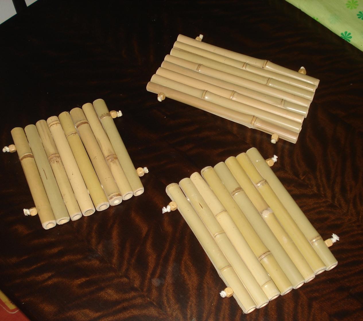 UTENSÍLIOS DE COZINHA Bambuluar Artesanato em Bambú #9F792C 1265x1119