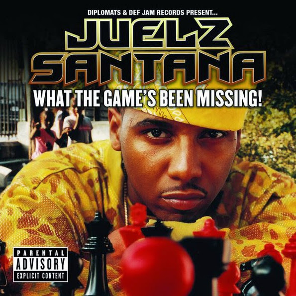Juelz Santana - What the Game's Been Missing - Album  Cover